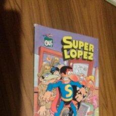 Fumetti: SUPER LOPEZ. LOS ALIENÍGENAS. COLECCIÓN OLÉ. LOMO UN POCO TOCADO EN LA PARTE DE ARRIBA. . Lote 102473015