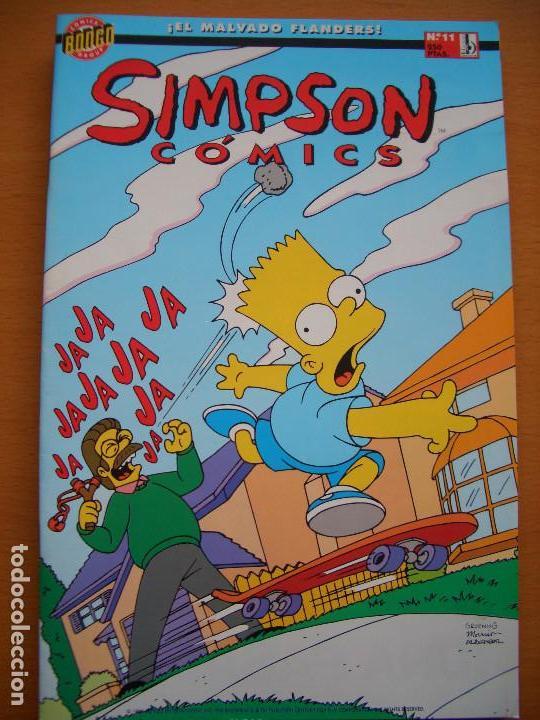 SIMPSON COMICS #11 (EDICIONES B) (Tebeos y Comics - Ediciones B - Otros)