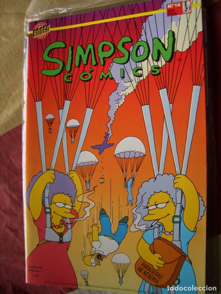 SIMPSON COMICS #16 (EDICIONES B) (Tebeos y Comics - Ediciones B - Otros)