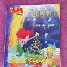 Cómics: LA SIRENITA CENA DE GALA, COLECCION OLE DISNEY Nª51, GRUPO Z EDICIONES B 1998. Lote 253422250
