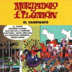 Cómics: MORTADELO Y FILEMÓN - EL CANDIDATO - 41 PAGINAS - PASTAS SEMI DURA - PEQUEÑO DEFECTO- VER FOTOGRAFIA. Lote 103115763
