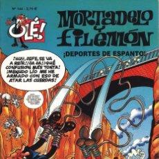 Cómics: MORTADELO Y FILEMÓN - ¡DEPORTES DE ESPANTO¡ 60 PAGINAS EN PERFECTO ESTADO. Lote 103147247