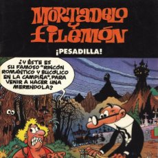 Cómics: MORTADELO Y FILEMON - PESADILLA - TAPAS SEMIDURA - EN PERFECTO ESTADO. Lote 103153435
