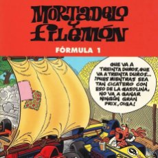 Cómics: MORTADELO Y FILEMON - FORMULA 1 - TAPAS SEMI DURA - EN PERFECTO ESTADO. Lote 103154447