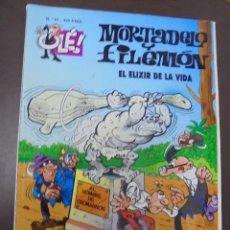 Cómics: MORTADELO Y FILEMON. Nº 67. EL ELIXIR DE LA VIDA. Lote 103257551