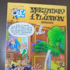 Cómics: MORTADELO Y FILEMON. Nº 81. DINOSAURIOS. Lote 103257899