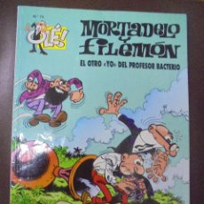 Cómics: MORTADELO Y FILEMON. Nº 74. EL OTRO YO DEL PROFESOR BACTERIO.. Lote 208685060