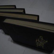 Cómics: TOMOS 1 A 4 CAPITAN TRUENO ENCUADERNADA 1991 EDICIONES B TAPA AZUL. 192 FASCICULOS. Lote 103328463