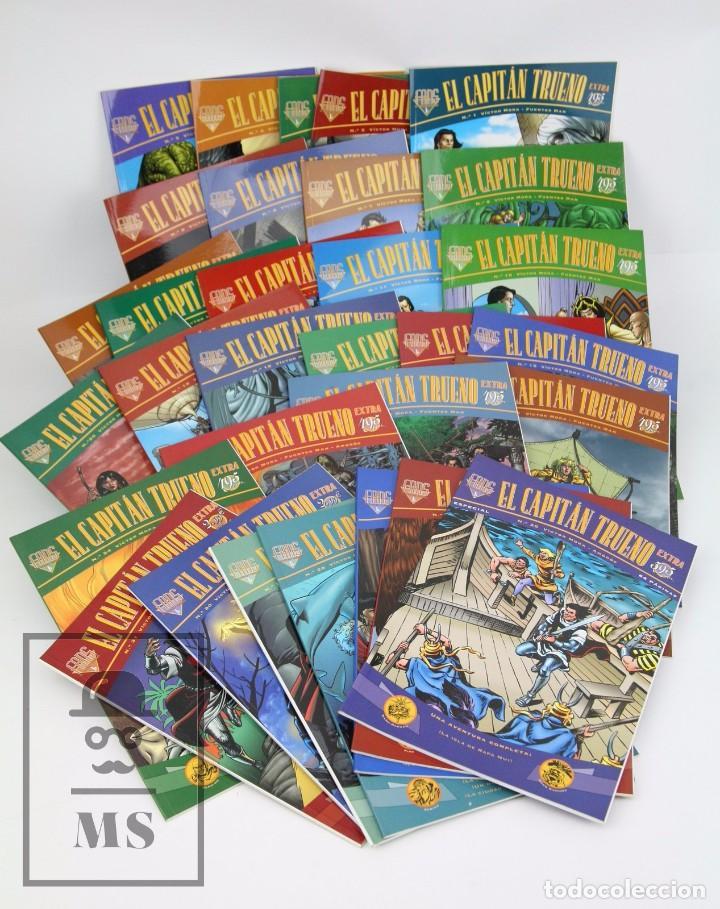 LOTE DE CÓMICS - EL CAPITAN TRUENO EXTRA DEL NÚMERO 1 AL 31 - EDICIONES B - AÑO 1998 (Tebeos y Comics - Ediciones B - Otros)