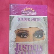 Cómics: JUSTICIA SALVAJE. WILBUR SMITH. BRUGUERA. PRECINTADO. Lote 103578983