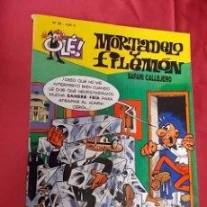 Cómics: OLE. MORTADELO Y FILEMON. Nº 98. SAFARI CALLEJERO. EDICIONES B. Lote 103632723