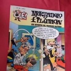 Cómics: OLE. MORTADELO Y FILEMON. Nº 104. LOS INVENTOS DEL PROFESOR BACTERIO. EDICIONES B. Lote 103632891