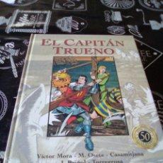 Cómics: EL CAPITÁN TRUENO 50 ANIVERSARIO TOMO 8 VICTOR MORA TAPA DURA. Lote 103843091