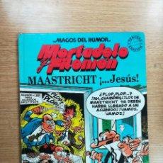 Cómics: MORTADELO Y FILEMON MAASTRICHT... JESUS (MAGOS DEL HUMOR #47) (2ª REIMPRESION MAYO 1993). Lote 103874755