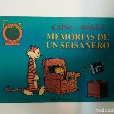 Cómics: CALVIN Y HOBBES MEMORIAS DE UN SEISAÑERO (FANS CALVIN Y HOBBES #9). Lote 140853337