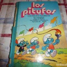 Cómics: (XM) TOMO LOS PITUFOS- EDICIONES B-1ª EDICION ABRIL-1992. Lote 104080123