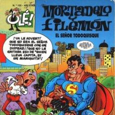 Cómics: MORTADELO Y FILEMON - EL SEÑOR TODOQUISQUE - PASTAS SEMI DURAS. Lote 104121367