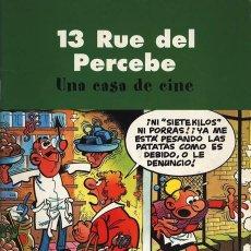 Cómics: 13 RUE DEL PERCEBE - UNA CASA DE CINE - PASTAS SEMI DURA EN MUY BUEN ESTADO. Lote 104767015