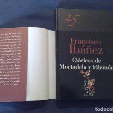 Cómics: FRANCISCO IBÁÑEZ - CLÁSICOS DE MORTADELO Y FILEMÓN. EDICIONES B, 2011.. Lote 104984051