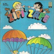 Cómics: ZIPI Y ZAPE - Nº 183 - EDICIONES B - 1987. Lote 105284611