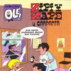 Cómics: ZIPI Y ZAPE Y CARPANTA. EDICIONES B 169 Z.36 1ª EDICIÓN OCTUBRE 1988. Lote 105537519