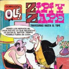 Cómics: ZIPI Y ZAPE TRAVESURAS HASTA EL TOPE. EDICIONES B 114-Z2 1987. Lote 105542699