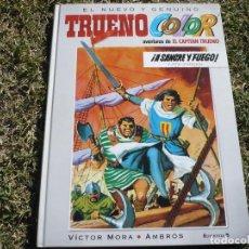 Cómics: TRUENO COLOR, Nº 1. MORA & AMBRÓS. EDICIONES B, 2009.. Lote 105582647