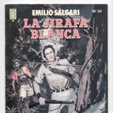 Cómics: EMILIO SALGARI LA JIRAFA BLANCA Nº 35. Lote 105602271