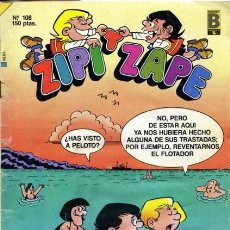 Cómics: ZIPI Y ZAPE SEMANAL- Nº 108 -ROQUITA-5 AMIGUETES-JUNGLA LOCA- BUENO-1989- MUY RARO-7483. Lote 105748111