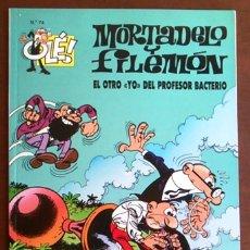Cómics: MORTADELO Y FILEMÓN, EL OTRO YO DEL PROFESOR BACTERIO. COLECCIÓN OLÉ Nº 74.. Lote 105781511