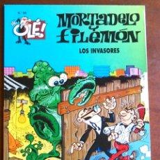 Cómics: MORTADELO Y FILEMÓN, LOS INVARORES. EDICIONES B, COLECCIÓN OLÉ, Nº 69.. Lote 105781687