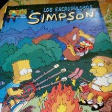 Cómics: OLE SIMPSON Nº 16. LOS ESCRUPULOSOS SIMPSON. EDICIONES B, 1ª EDICION 1.998. Lote 105947559