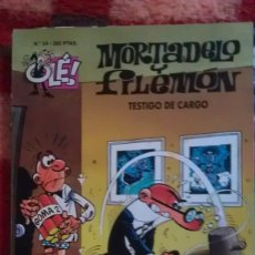 Comics - MORTADELO Y FILEMON - TESTIGO DE CARGO - OLE 24 - 106581259