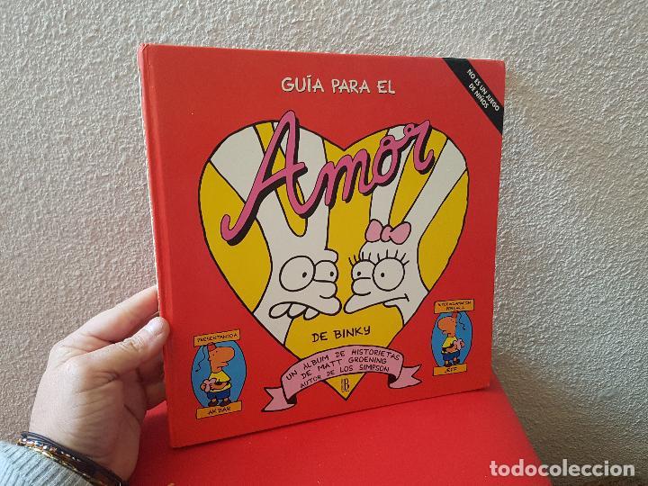 LIBRO TOMO COMIC TEBEO GUIA PARA EL AMOR DE BINKY 1996 EDICIONES B (Tebeos y Comics - Ediciones B - Otros)
