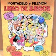 Cómics: MORTADELO Y FILEMÓN / LIBRO DE JUEGOS. / ED / EDICIONES B-2006 / A ESTRENAR. 48 PAG. Lote 143354560