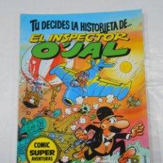 Cómics: TU DECIDES LA HISTORIETA DE EL INSPECTOR OJAL. TDKC28. Lote 107804855