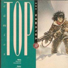 Cómics: COMICS TOP - VOLUMEN III (Nº 7,8,9,10) - EDICIONES B - 1993.. Lote 107902571