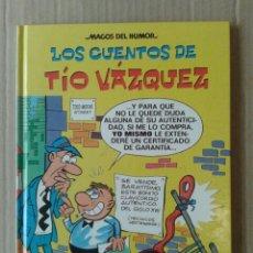 Cómics: LOS CUENTOS DE TÍO VÁZQUEZ, BY VÁZQUEZ. COLECCIÓN MAGOS DEL HUMOR N°138. EDICIONES B, 2010. Lote 108063462
