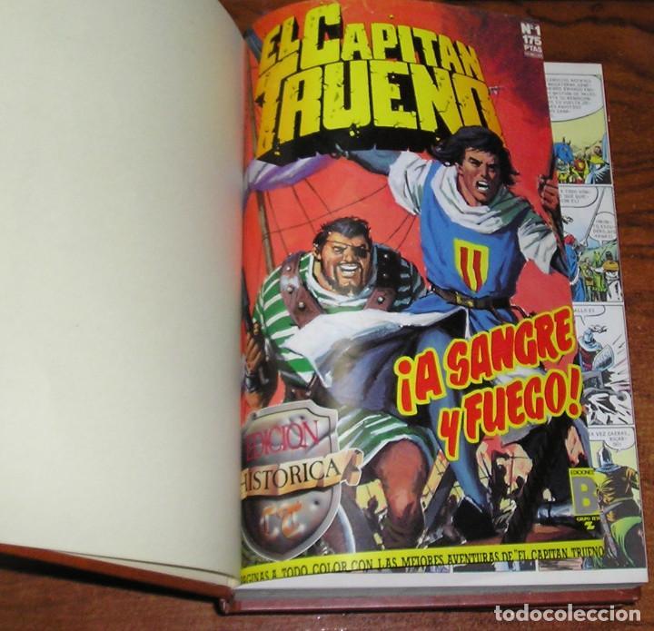 EL CAPITAN TRUENO 3 TOMOS EDICIÓN HISTÓRICA Nº 1 AL 45 (Tebeos y Comics - Ediciones B - Clásicos Españoles)