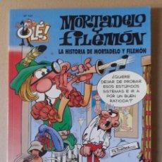 Cómics: LA HISTORIA DE MORTADELO Y FILEMÓN. COLECCIÓN OLÉ N° 107. EDICIONES B, 2011.. Lote 108784299