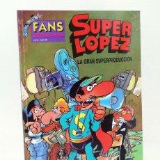 Comics: SUPER LÓPEZ SUPERLÓPEZ FANS 9. LA GRAN SUPERPRODUCCIÓN (JAN) B, 2003. OFRT ANTES 3,95E. Lote 262655720