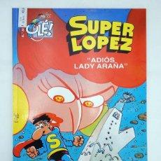 Cómics: SUPER LÓPEZ SUPERLÓPEZ FANS 36. ADIOS LADY ARAÑA (JAN) B, 2003. OFRT ANTES 3,95E. Lote 137752190