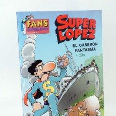 Cómics: SUPER LÓPEZ SUPERLÓPEZ FANS 38. EL CASERÓN FANTASMA (JAN) B, 2003. OFRT ANTES 3,95E. Lote 146420246