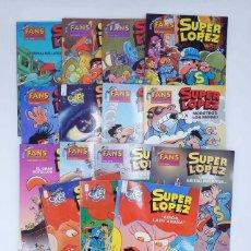 Cómics: SUPER LÓPEZ SUPERLÓPEZ FANS LOTE DE 14. VER LISTA (JAN) B, 2003. OFRT ANTES 59,25E. Lote 108893876