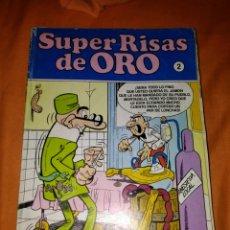 Cómics: SUPER RISAS DE ORO MORTADELO Y FILEMON N 2. Lote 109128483