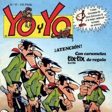 Cómics: YO Y YO - II- Nº 17 - UNA GRAN REVISTA A COLECCIONAR-1990-JAN-ASTÉRIX-RAMIS-LUCKY LUKE-REGULAR-7642. Lote 109195643