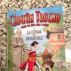 Cómics: EL CAPITÁN TRUENO Y LA ESPADA DEL INVENCIBLE. TAPA DURA COLOR. Lote 109247931