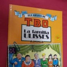 Cómics: ELS ARXIUS DE TBO. Nº 1. LA FAMÍLIA ULISES. EDICIONES B. EN CATALÁ. Lote 109312623
