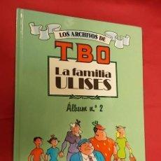 Cómics: LOS ARCHIVOS DE TBO. LA FAMILIA ULISES. ALBUM Nº2. EDICIONES B. . Lote 109312891