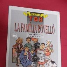 Cómics: ELS ARXIUS DE TBO. Nº 3 LA FAMILIA ROVELLÓ. EDICIONES B. EN CATALÁ. Lote 109314035